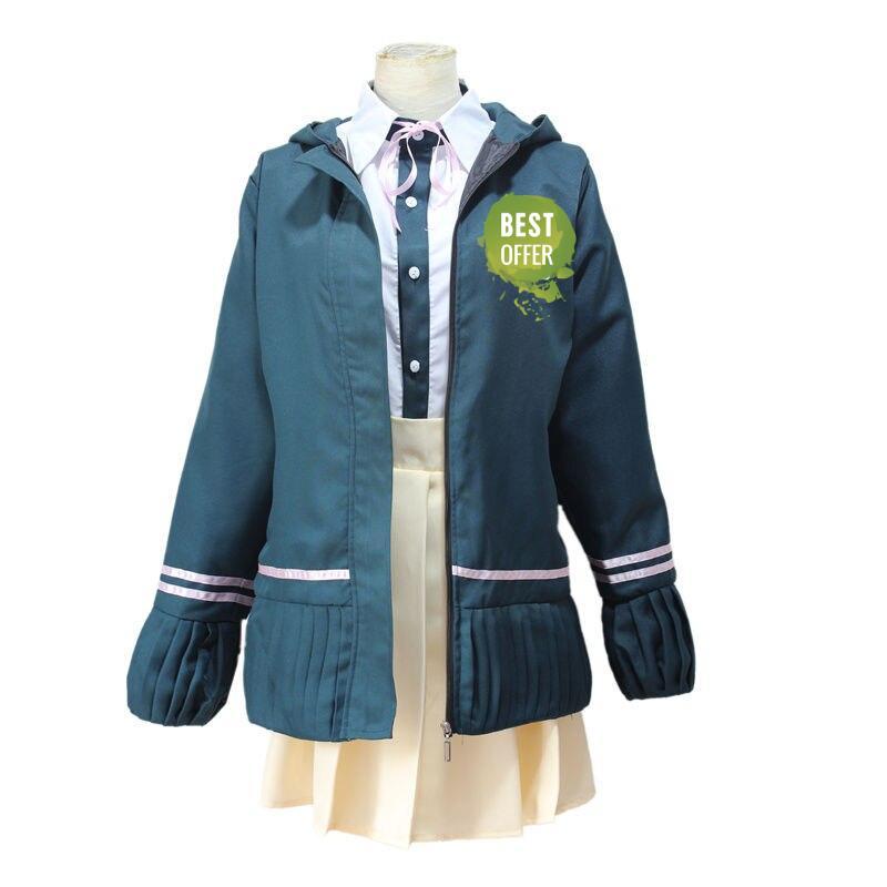 Danganronpa Anime Chiaki Nanami Cosplay Costume