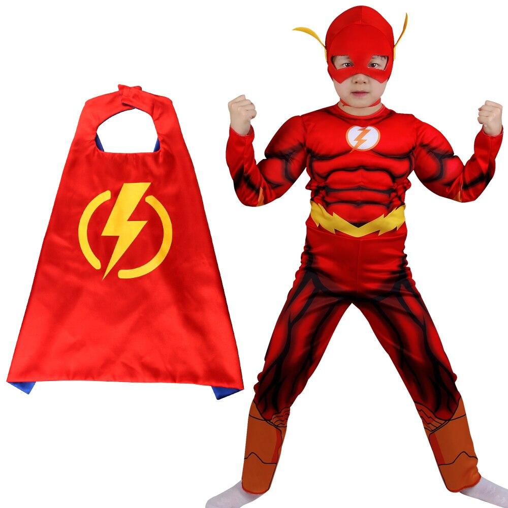 Fantasia Flash cosplay costume For kids