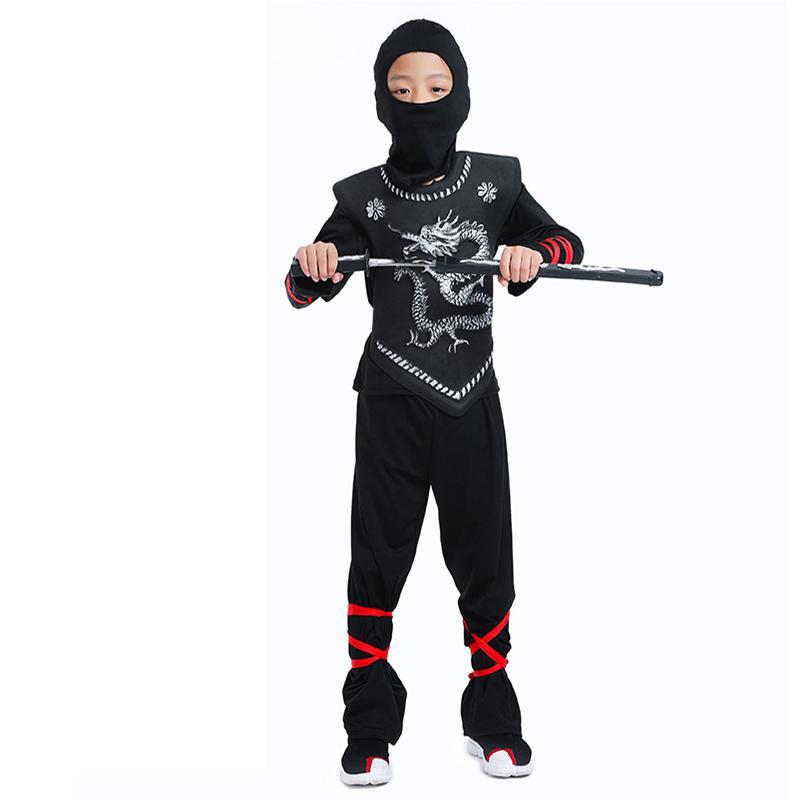 Halloween Ninjago Assassin Cosplay Costume For Kids