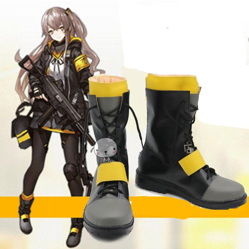 Frontline Ump45 UMP9 Cosplay Shoes Boots
