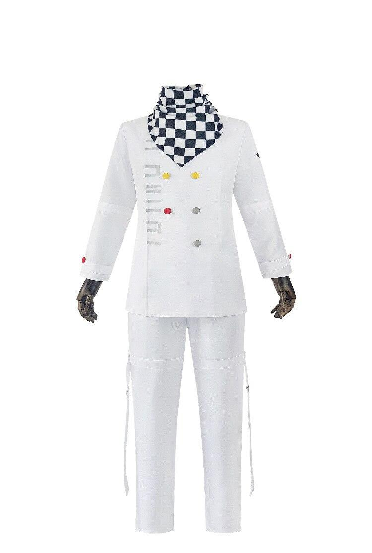 Danganronpa Anime Ouma Kokichi Cosplay costume With Jacket,Pants,Tie,Wig And Cape