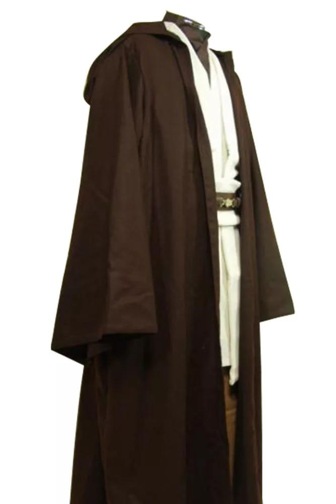 Star Cosplay Wars Jedi Costume Master Obi Wan Obi Wan Kenobi Cosplay Costume Ben Tunic Outfit+Cloak/Robe|jedi costume|cosplay costumestar wars jedi - AliExpress