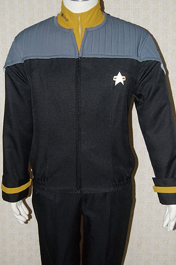 Star Trek NEM Duty Uniform Cosplay Costume Nemesis Hoodie Zipper Sweatshirt  Coat