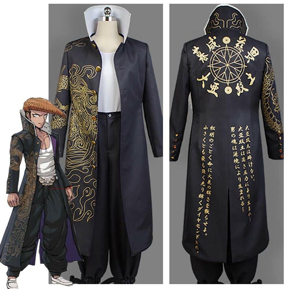 Danganronpa Dangan Ronpa Cosplay Mondo Owada Oowada Cosplay Costume Jacket Coat Outfit|Anime Costumes| - AliExpress