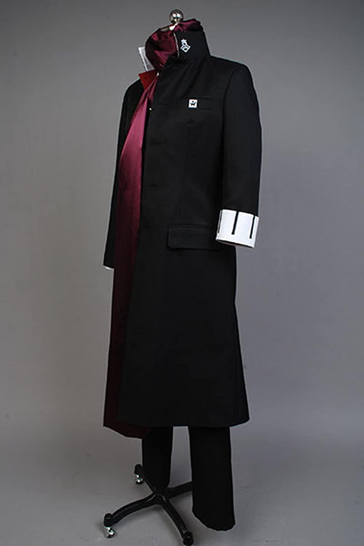 Amazon.com: YuanCos Gundham Tanaka Ultimate Breeder Black School Uniform Cosplay Costume: Clothing