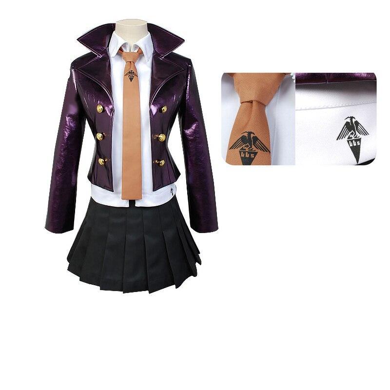 Anime Danganronpa Kirigiri Kyouko Cosplay costume