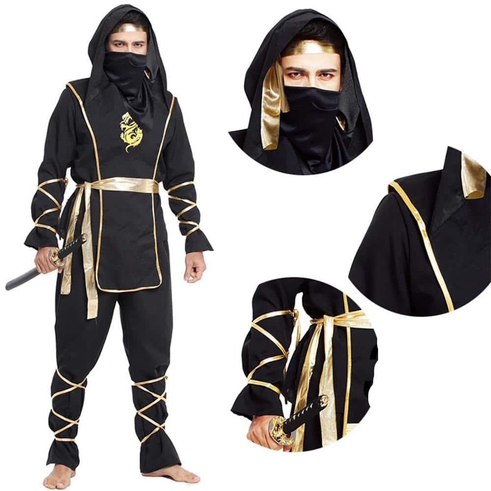 Anime Naruto Warrior Masquerade Cosplay Costume