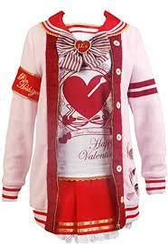 Amazon.com: Ya-cos LoveLive! Valentine's Day Yazawa Nico Honoka Kosaka Rin Hoshizora Costume: Clothing