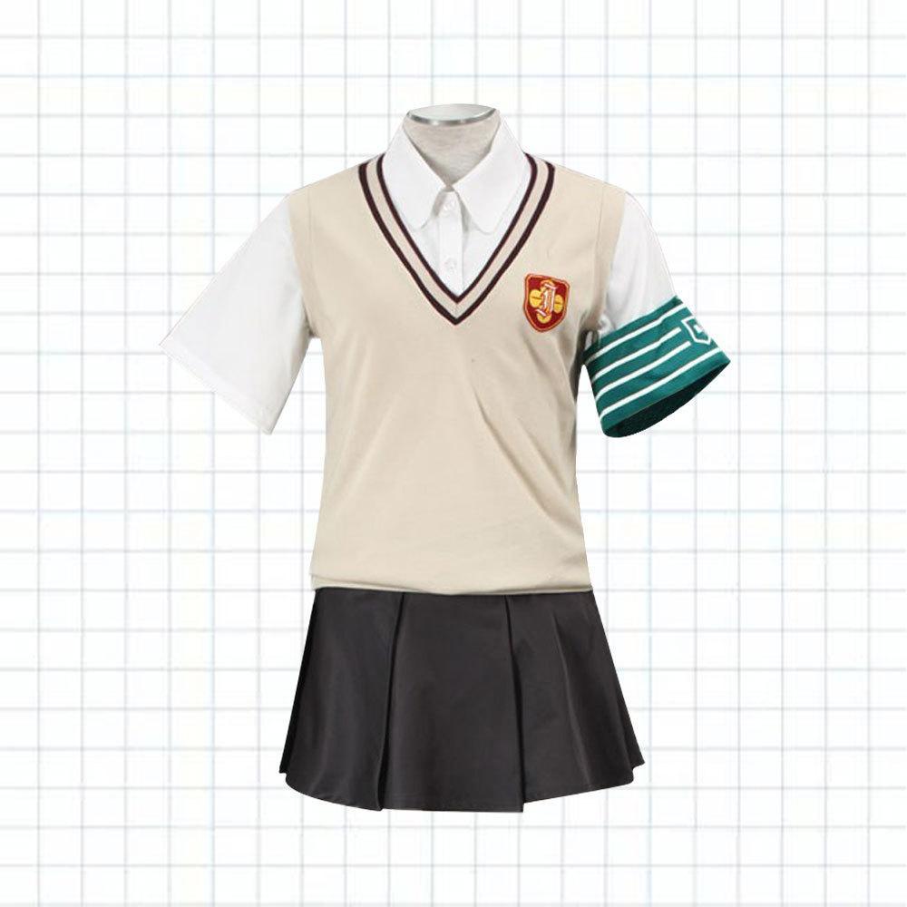 Anime Toaru Kagaku No Railgun Misaka Mikoto Kazari Uiharu Uniform Cosplay Costume