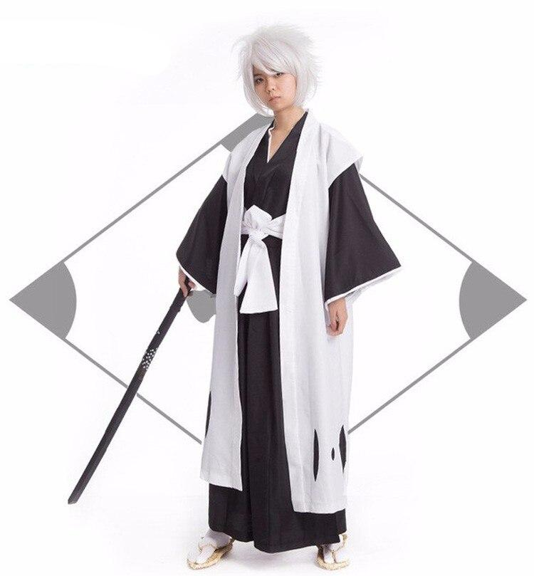 Anime Bleach Kyouraku Shunsui Kenpachi Zaraki Cosplay Costume
