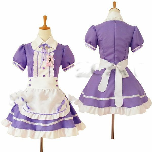 Sexy French Maid Costume Sweet Gothic Lolita Dress Anime Cosplay Sissy Maid Uniform Plus Size Halloween Costumes For Women | Wish