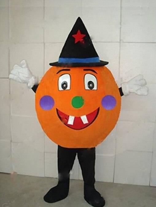 Mr. Pumpkin Cosplay Mascot Costume