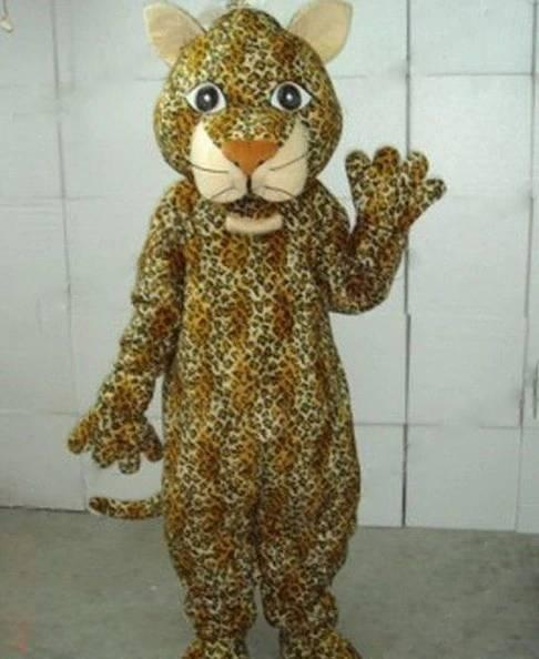 Leopard Panther Cosplay Mascot Costume For Adults