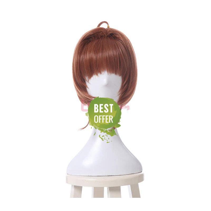 Cardcaptor Sakura Kinomoto Sakura Cosplay Wigs