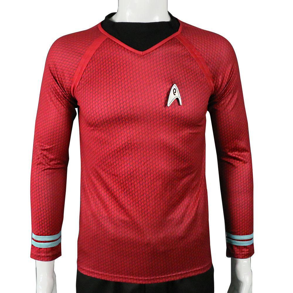 Star Trek into Darkness Captain Kirk Uniform Shirt Cosplay Costume – COSICON